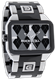 Picture of Duel Time - Silver/Black Ceramic/Gray Argyle